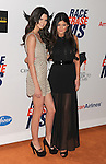CENTURY CITY, CA - MAY 18: Kendall Jenner and Kylie Jenner arrive at the 19th Annual Race To Erase MS Event at the Hyatt Regency Century Plaza on May 18, 2012 in Century City, California.