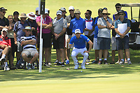 Brett Rumford (AUS) in action on the 2nd during Round 2 of the ISPS Handa World Super 6 Perth at Lake Karrinyup Country Club on the Friday 9th February 2018.<br /> Picture:  Thos Caffrey / www.golffile.ie<br /> <br /> All photo usage must carry mandatory copyright credit (&copy; Golffile   Thos Caffrey)