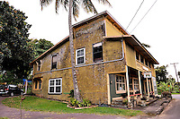 The Wo On Store was one of many retail shops, mostly run by immigrants, that operated on the North Kohala Coast of Big Island, Hawaii  in the 19th and early 20th centuries. The building is now the gallery home of artist Patrick Louis Rankin. Big Island, Hawaii