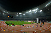 National Stadium, also known as the Bird's Nest. Olympic Venues<br /> Olimpiadi Pechino 2008. Impianto Giochi Olimpici<br /> Foto Cspa/Insidefoto