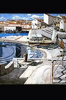 "Macintosh Collection: Hunterian Art Gallery, U. of Glasgow. Watercolor, ""The Little Bay"" 1927."