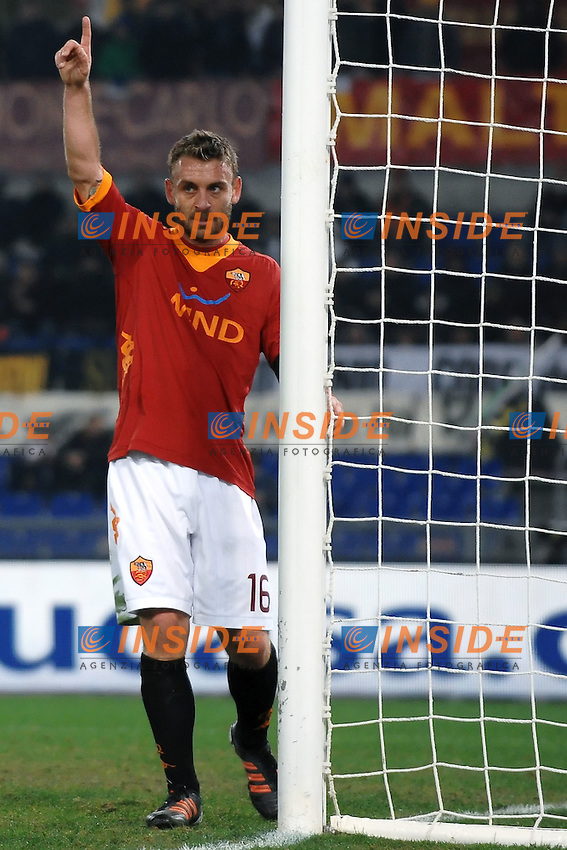 Daniele DE ROSSI Roma.Roma 20/11/2011 Stadio Olimpico.Football Calcio Serie A 2011/2012.Roma Vs Lecce.Foto Insidefoto Andrea Staccioli