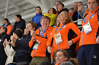 OLYMPIC GAMES: PYEONGCHANG: 11-02-2018, Gangneung Oval, Long Track, 5000m Men, King Willem-Alexander of the Netherlands, ©photo Martin de Jong