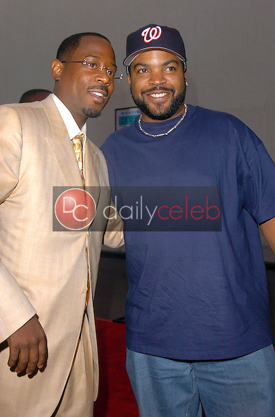 Martin Lawrence and Ice Cube <br /> at the Special Screening of &quot;Rebound&quot;, Twentieth Century Fox Lot, Los Angeles, CA 05-20-05<br /> Chris Wolf/DailyCeleb.com 818-249-4998