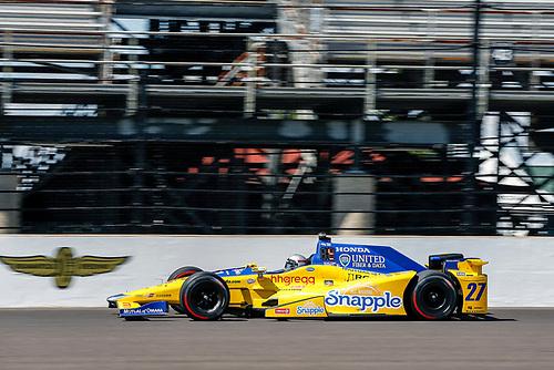 16-20 May, 2016, Indianapolis, Indiana, USA<br /> Marco Andretti<br /> ©2016, Sam Cobb<br /> LAT Photo USA