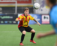 20191005  -  Diksmuide , BELGIUM : KV Mechelen's Shauny Polfliet pictured during a footballgame between the womensoccer teams from Famkes Westhoek Diksmuide Merkem and KV Mechelen Ladies A , on the 5th matchday in the first division , 1e nationale , in Diksmuide - Belgium - saturday 5th october 2019 . PHOTO DAVID CATRY   Sportpix.be
