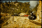 D&amp;RGW #476 K-28 and #478 K-28 with possibly two trains.<br /> D&amp;RGW  High Line out of Rockwood ?, CO