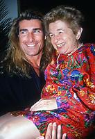 Fabio Dr. Ruth Westheimer 1992<br /> Photo By John Barrett/PHOTOlink.net