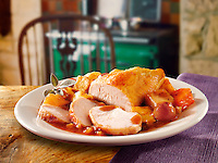 British Food - Roast Turkey Breast