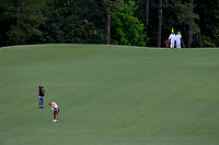Maria Fassi (MEX) on the 2nd during the final  round at the Augusta National Womans Amateur 2019, Augusta National, Augusta, Georgia, USA. 06/04/2019.<br /> Picture Fran Caffrey / Golffile.ie<br /> <br /> All photo usage must carry mandatory copyright credit (© Golffile | Fran Caffrey)