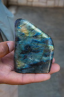 Africa, Madagascar, Ambositra city. Minerals for sale.