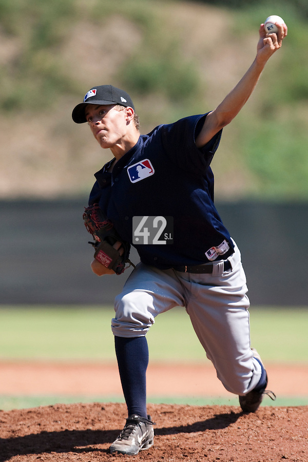 Baseball - MLB European Academy - Tirrenia (Italy) - 20/08/2009 - Felix Stahlecker (Germany)