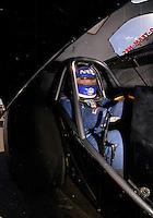 Jan. 2000; Chandler, AZ, USA; NHRA funny car driver Gary Densham during pre season testing at Firebird International Raceway. Mandatory Credit: Mark J. Rebilas-