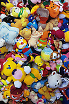 Soft Toys - Pile of soft toys at the market in Can Tho, Mekong Delta, Viet Nam