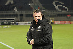 Uwe Koschinat (Trainer, SV Sandhausen) vor dem Spiel  beim Spiel in der 2. Bundesliga, SV Sandhausen - 1. FC Heidenheim 1846.<br /> <br /> Foto © PIX-Sportfotos *** Foto ist honorarpflichtig! *** Auf Anfrage in hoeherer Qualitaet/Aufloesung. Belegexemplar erbeten. Veroeffentlichung ausschliesslich fuer journalistisch-publizistische Zwecke. For editorial use only. For editorial use only. DFL regulations prohibit any use of photographs as image sequences and/or quasi-video.