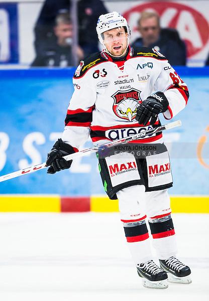 S&ouml;dert&auml;lje 2014-10-23 Ishockey Hockeyallsvenskan S&ouml;dert&auml;lje SK - Malm&ouml; Redhawks :  <br /> Malm&ouml; Redhawks Jens Jakobs <br /> (Foto: Kenta J&ouml;nsson) Nyckelord: Axa Sports Center Hockey Ishockey S&ouml;dert&auml;lje SK SSK Malm&ouml; Redhawks portr&auml;tt portrait