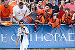 29 May 2012: Los Angeles' Hector Jimenez (16) hears it from the home fans while taking a corner kick. The Carolina RailHawks (NASL) played the Los Angeles Galaxy (MLS) at WakeMed Soccer Stadium in Cary, NC in a 2012 Lamar Hunt U.S. Open Cup third round game.