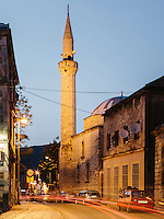 An old mosque in Mostar.