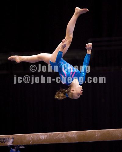 8/17/06 -- Photo by John Cheng -- VISA Championships Women Sr Prelim - Jacquelyn Johnson (Cincinnati Gymnastics)