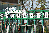 HOT SPRINGS, AR - MARCH 18: The Oaklawn starting gate before the running of the Rebel Stakes at Oaklawn Park on March 18, 2017 in Hot Springs, Arkansas. (Photo by Justin Manning/Eclipse Sportswire/Getty Images)