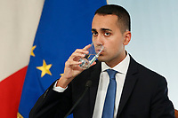 Luigi Di Maio<br /> Roma 20/10/2018. Consiglio dei Ministri sulla Manovra Economica DEF.<br /> Rome October 20th 2018. Minister's Cabinet about the Economic and Financial Document.<br /> Foto Samantha Zucchi Insidefoto