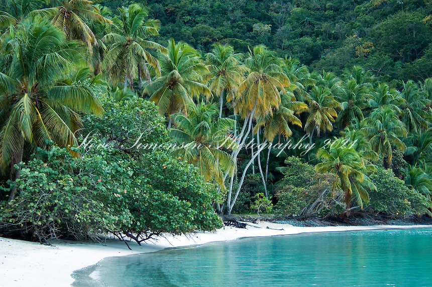 Maho Bay, St John.Virgin Islands National Park