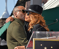 LOS ANGELES, CA. December 2, 2016: Lee Daniels &amp; Queen Latifah at star ceremony for director Lee Daniels on the Hollywood Walk of Fame.<br /> Picture: Paul Smith/Featureflash/SilverHub 0208 004 5359/ 07711 972644 Editors@silverhubmedia.com