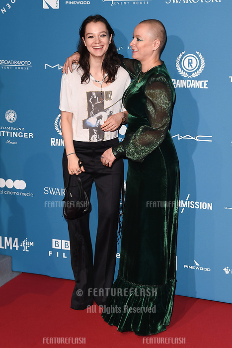 LONDON, UK. December 02, 2018: Samantha Morton & daughter, Esme Creed-Miles at the British Independent Film Awards 2018 at Old Billingsgate, London.<br /> Picture: Steve Vas/Featureflash