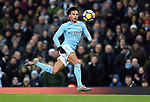 Leroy Sane of Manchester City during the premier league match at the Etihad Stadium, Manchester. Picture date 16th December 2017. Picture credit should read: Robin ParkerSportimage