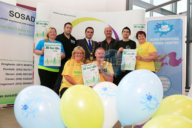 At the Launch of Launch of SOSAD 5K For Life<br /> Picture: www.newsfile.ie