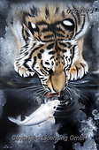 Sandi, REALISTIC ANIMALS, REALISTISCHE TIERE, ANIMALES REALISTICOS, paintings+++++,USSN73,#a#, EVERYDAY ,tiger,tigers, ,puzzles
