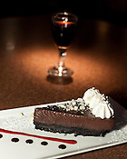 December 02, 2009. Raleigh, North Carolina.. Pies around the Triangle for DISH..Bailey's Chocolate Pie at Gelnwood Grill