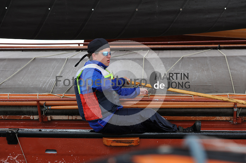 SKÛTSJESILEN: FYSLÂN: SKS kampioenschap 2015, ©foto Martin de Jong