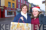 Pauline and Karen Coffey Caherciveen looking for bargains in Caherciveen on Thursday   Copyright Kerry's Eye 2008