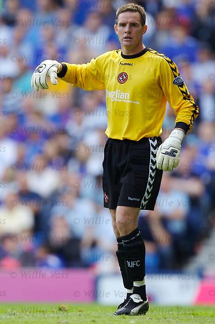 Derek Stillie, Dundee Utd.stock season 2006-2007.pic willie vass