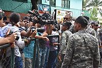 La Oficina de Atenci&oacute;n Permanente de Santo Domingo Oeste conocer&aacute; la tarde de este jueves 19 de octubre, la solicitud de medida de coerci&oacute;n contra los implicados en la muerte del presidente de la Convergencia Nacional de Abogados, Yuniol Ram&iacute;rez.<br /> Foto: &copy; Edgar Hern&aacute;ndez<br /> Fecha:19/10/2017