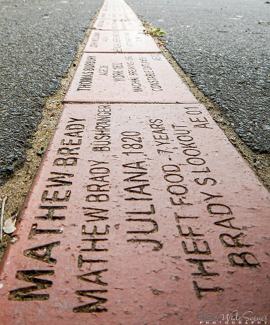 The Convict Brick Trail at Campbell Town is dedicated to some of the nearly 200,000 convicts who were transported to Australia for almost 100 years from 1788 onwards.  to read more about it visit http://www.northernmidlands.tas.gov.au/page/Page.aspx?Page_Id=345