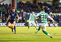 1st December 2019; Global Energy Stadium, Dingwall, Highland, Scotland; Scottish Premiership Football, Ross County versus Celtic; Mikey Johnston of Celtic shoots and makes it 4-1 in the 73rd minute - Editorial Use