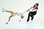 TAIPEI, TAIWAN - JANUARY 24:  Alexa Scimeca and Chris Knierim of USA perform their routine at the Pairs Free Skating event during the Four Continents Figure Skating Championships on January 24, 2014 in Taipei, Taiwan.  Photo by Victor Fraile / Power Sport Images *** Local Caption *** Alexa Scimeca; Chris Knierim