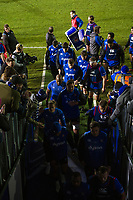 The Bath Rugby team leave the field at the end of the pre-match warm-up. European Rugby Champions Cup match, between Bath Rugby and RC Toulon on December 16, 2017 at the Recreation Ground in Bath, England. Photo by: Patrick Khachfe / Onside Images