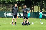 28.07.2020, Trainingsgelaende am wohninvest WESERSTADION,, Bremen, GER, 1.FBL, Werder Bremen Training U23, im Bild<br /> <br /> <br /> Konrad Fünfstück / Fuenfstueck (Trainer SV Werder Bremen II)<br /> Marco Grimm (Co-Trainer SV Werder Bremen II)<br /> <br /> Foto © nordphoto / Kokenge