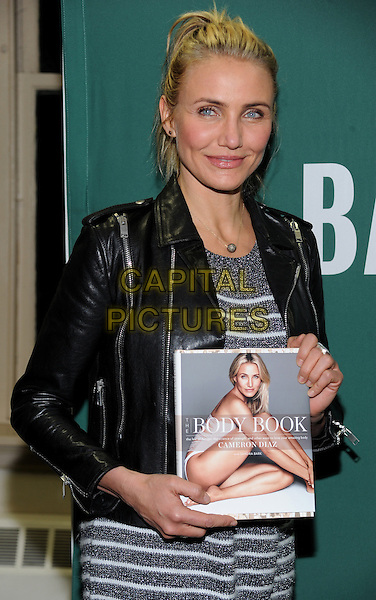 NEW YORK, NY - JANUARY 6: Cameron Diaz attends her 'The Body Book' book signing at Barnes and Noble in New York City on January 6, 2014. <br /> CAP/MPI/RTNStevens<br /> &copy;RTNStevens/MPI/Capital Pictures