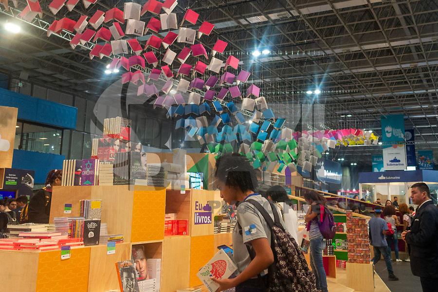 RIO DE JANEIRO, RJ, 05.09.2019 - BIENAL-RJ - XIX Bienal Internacional do Livro Rio, no Riocentro, Rio de Janeiro nesta quinta-feira, 05. (Foto: Clever Felix/Brazil Photo Press)