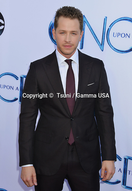 Josh Dallas 033 at the Once Upon A Time Premiere at the El Capitan Theatre in Los Angeles.
