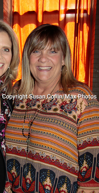 Sonia Satra & Kim Zimmer - 11th Annual Daytime Stars & Strikes Event for Autism - 2015 on April 19, 2015 hosted by Guiding Light's Jerry ver Dorn (& OLTL) and Liz Keifer at Bowlmor Lanes Times Square, New York City, New York. (Photos by Sue Coflin/Max Photos)