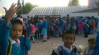 Colón, Querétaro. 6 de Octubre de 2015.- Padres de familia y alumnos de la escuela primaria adscrita a la USEBEQ, Alfredo V. Bonfil;  suspendieron clases y bloquearon la carretera com parte de su protesta por la falta de profesores.<br /> <br /> Al menos 220 alumnos de la comuidad de El Lindero, se vieron sin clases por esta protesta. <br /> <br /> Foto: Obture.