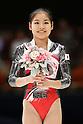 Yu Minobe (JPN), November 26, 2011 - Artistic Gymnastics : FIG Artistic Gymnastics World Cup, Tokyo Cup 2011 Women's Individual All-round Medal Ceremony at Ryogoku-kokugikan, Tokyo, Japan. (Photo by Daiju Kitamura/AFLO SPORT) [1045]