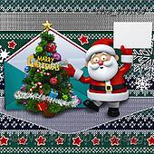 Isabella, CHRISTMAS SYMBOLS, WEIHNACHTEN SYMBOLE, NAVIDAD SÍMBOLOS, paintings+++++,ITKE533316S,#xx# ,napkins ,santa