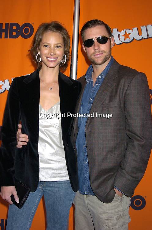 "Christy Turlington and Ed Burns ..at The New York Season 2 Premier of HBO Television show ""Entourage"" on June 2, 2005  at Lincoln Center. ..Photo by Robin Platzer, Twin Images"