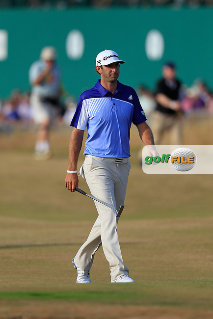 Dustin JOHNSON (USA) during round 3 of  The 142th Open Championship Muirfield, Gullane, East Lothian, Scotland 20/7/2013<br /> Picture Eoin Clarke www.golffile.ie: